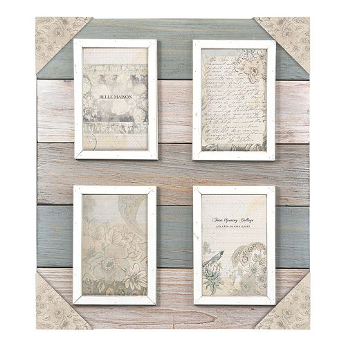 Belle Maison 4 Opening 4 Quot X 6 Quot Fashion Collage Frame