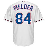 Men's Majestic Texas Rangers Prince Fielder Cool Base Replica MLB Jersey