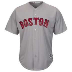 Men's Majestic Boston Red Sox Dustin Pedrioa Cool Base Replica MLB Jersey