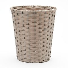 Home Classics® Woven Wicker Wastebasket