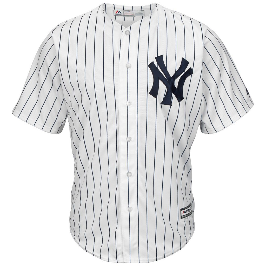 Men's Majestic New York Yankees Jacoby Ellsbury Cool Base Replica MLB Jersey