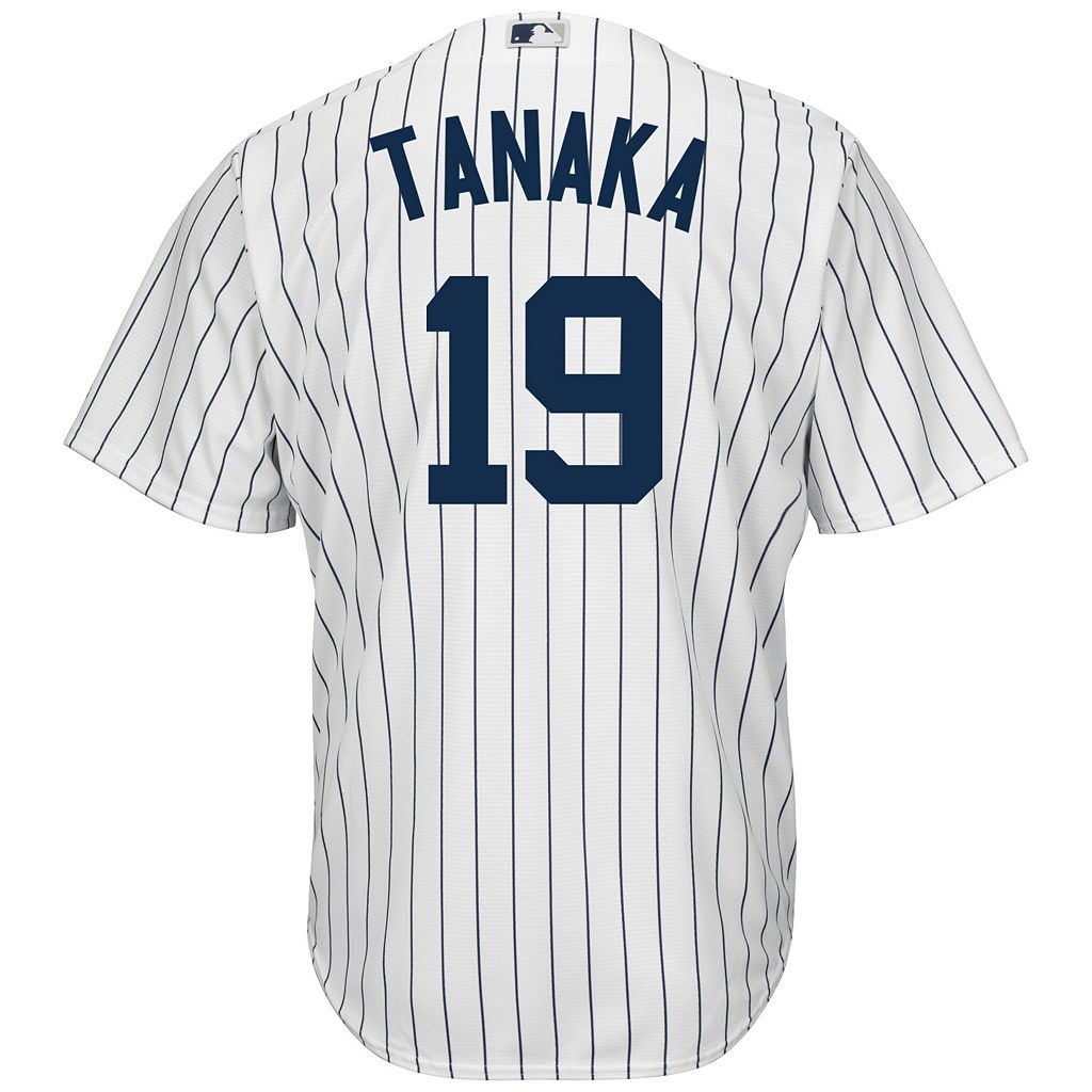Men's Majestic New York Yankees Masahiro Tanaka Cool Base Replica MLB Jersey