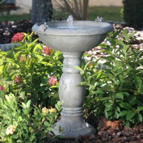 Smart Solar Country Gardens Turtles Birdbath Fountain