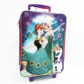 Disney's Frozen Olaf, Elsa & Anna Arendelle Wheeled Luggage Case - Kids