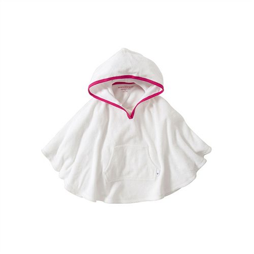 Toddler Girl Burt's Bees Baby Organic Knit Terry Hooded Poncho