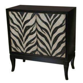 Pulaski Lela Zebra Cabinet
