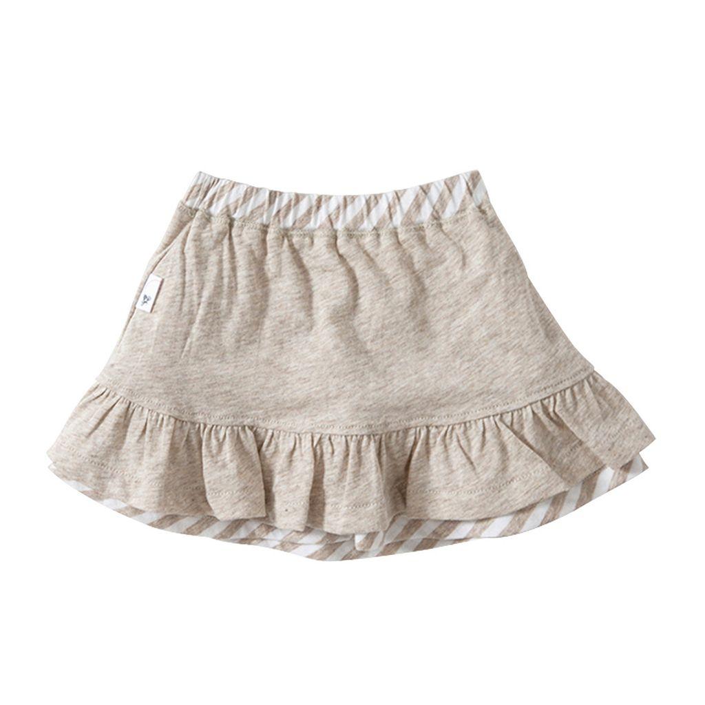Toddler Girl Burt's Bees Baby Organic Reversible Skirt