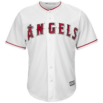 Men's Majestic Los Angeles Angels of Anaheim Cool Base Replica MLB Jersey