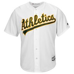 Men's Majestic Oakland Athletics Cool Base Replica MLB Jersey