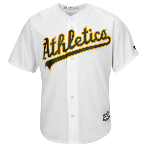 Men's Majestic Oakland Athletics Cool Base Replica MLB Jersey