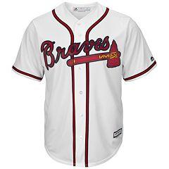 Men's Majestic Atlanta Braves Cool Base Replica MLB Jersey