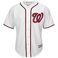 Men's Majestic Washington Nationals Cool Base Replica MLB Jersey