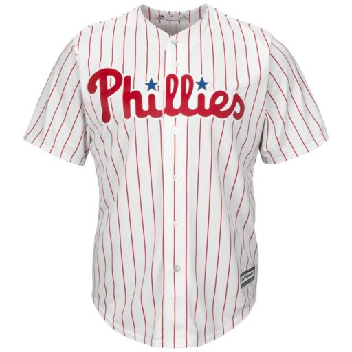 Men's Majestic Philadelphia Phillies Cool Base Replica MLB Jersey