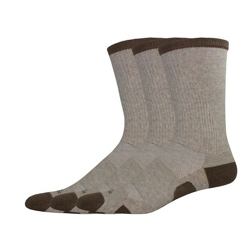 Men's Dockers 3-pack Dynamic Temperature Management Performance Crew Socks