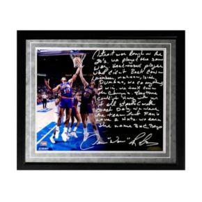 "Steiner Sports Detroit Pistons Dennis Rodman The Bad Boys Facsimile 16"" x 20"" Framed Metallic Story Photo"
