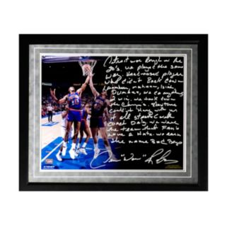 "Steiner Sports Detroit Pistons Dennis Rodman The Bad Boys Facsimile 16"" x 20"" Framed Metallic Story Photo"