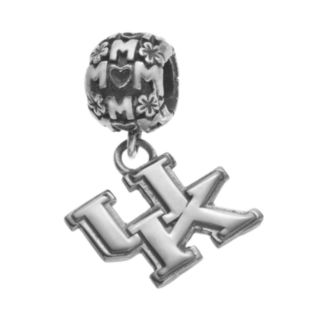 "Dayna U Sterling Silver Kentucky Wildcats Team Logo ""Mom"" Charm"