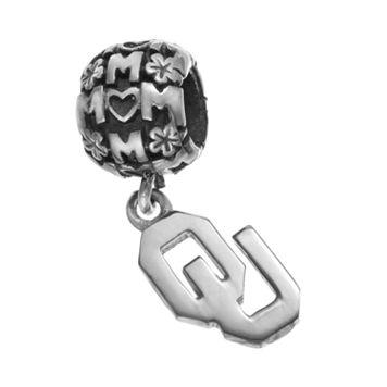 Dayna U Sterling Silver Oklahoma Sooners Team Logo