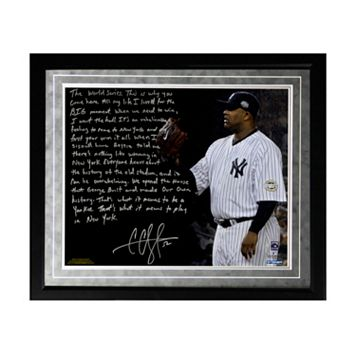 Steiner Sports New York Yankees CC Sabathia Winning in New York Facsimile 16