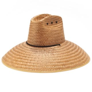Peter Grimm Sebastian Life Guard Oversized Straw Sun Hat