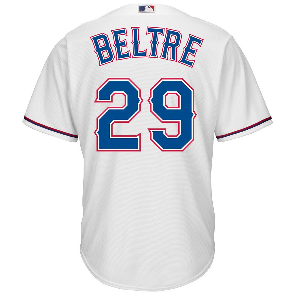 Men's Majestic Texas Rangers Adrian Beltre Cool Base Replica MLB Jersey