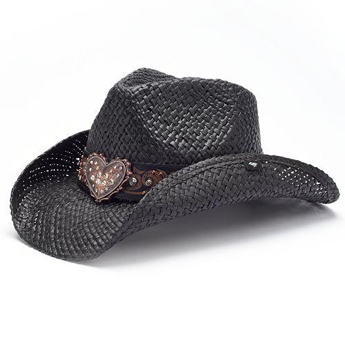 Peter Grimm Flint Rhinestone Cowboy Hat 7a6c6b48021