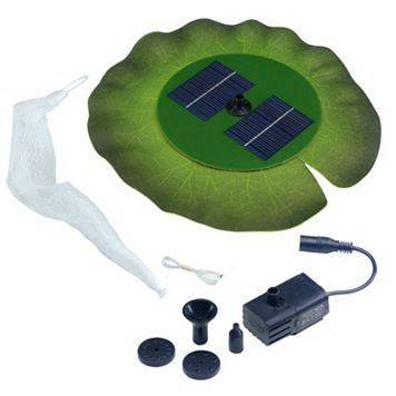 Smart Solar Floating Lily Pad Solar Fountain