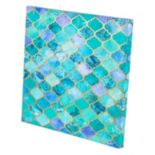 Micklyn Geometric Foil Print