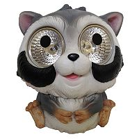 Smart Solar 2-piece Raccoon Accent Light Set