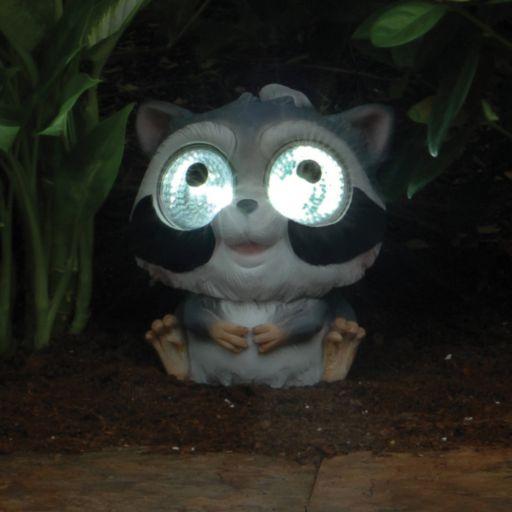 Smart Solar 2-piece Raccoon Accent Light Set
