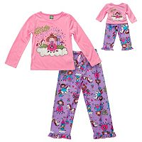 Girls 4-14 Dollie & Me Fairytale Princess Pajama Set
