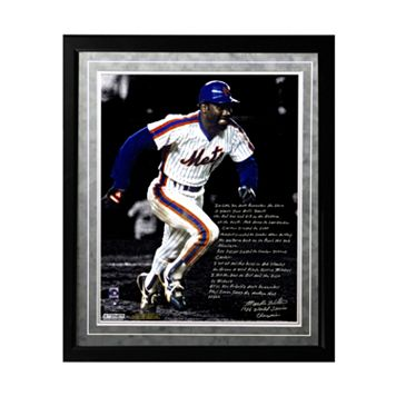 Steiner Sports New York Mets Mookie Wilson 1986 Buckner Game Facsimile 16
