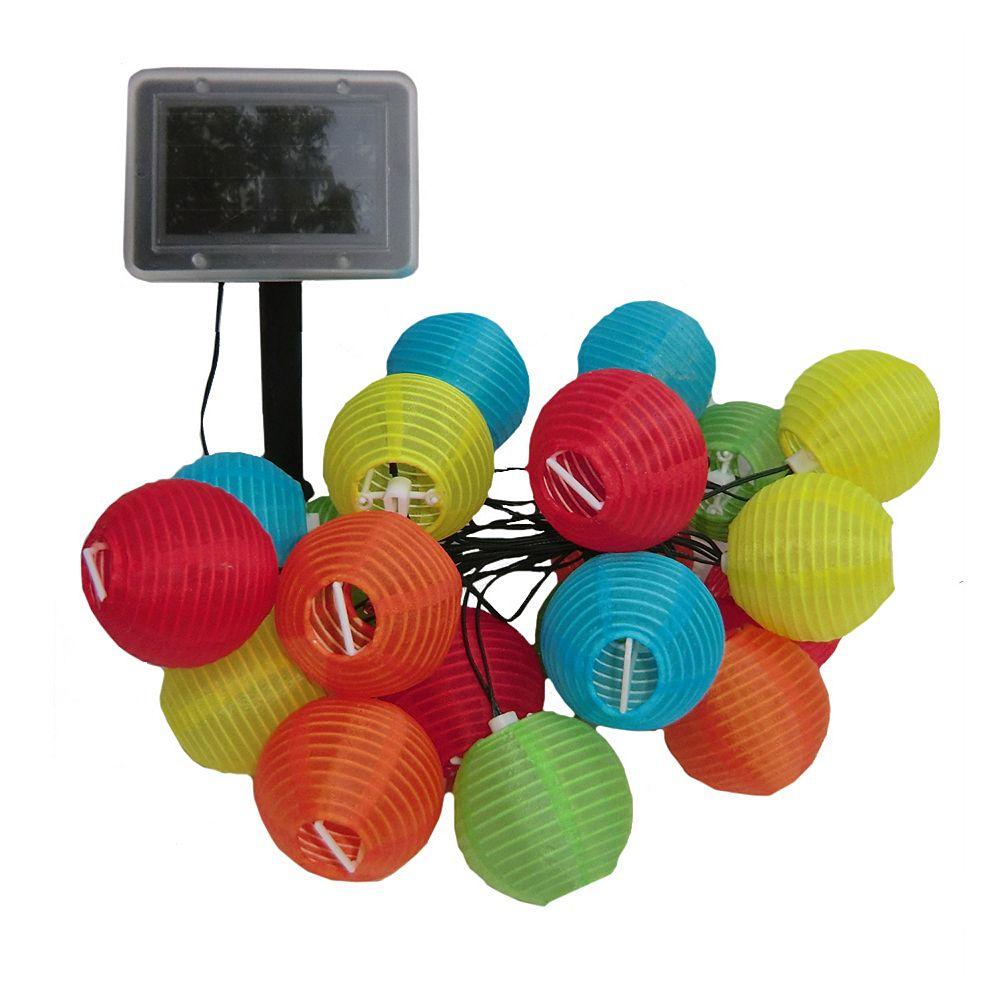 Smart Solar Mini Chinese Lanterns String Light Decor