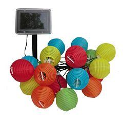 Smart Solar Mini Chinese Lanterns String Light Decor