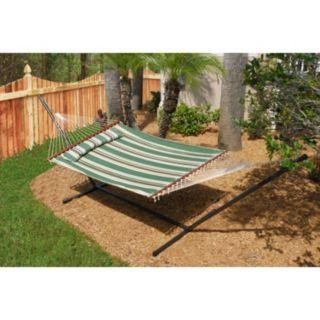 Smart Garden Belize Double Wide 15-ft. Metal Hammock Stand