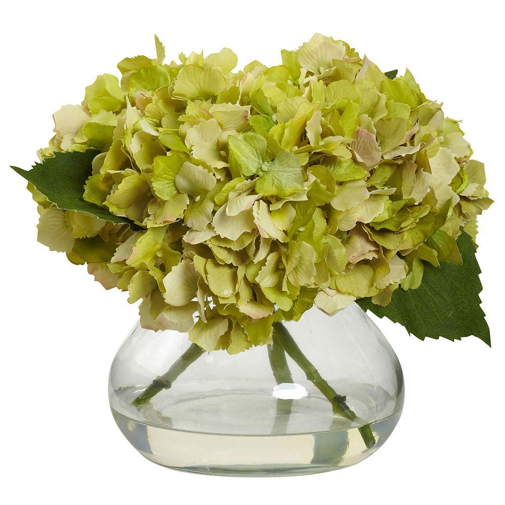 nearly natural Hydrangea Floral Arrangement