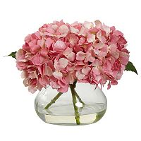 nearly natural Hydrangea Floral Arrangement