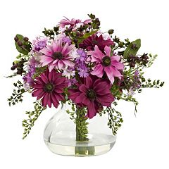 nearly natural Mixed Daisy Floral Arrangement