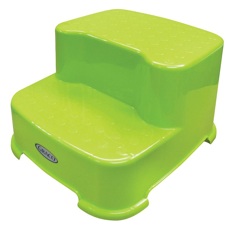 Graco 2-Tier Transition Step Stool, Green
