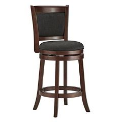 HomeVance Ames 24 in Swivel Counter Stool