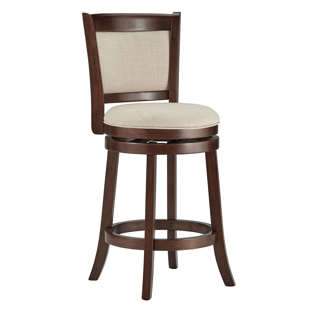 HomeVance Ames 24-in. Swivel Counter Stool