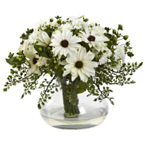 nearly natural Large Mixed Daisy Arrangement