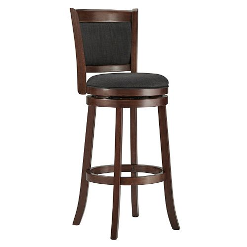 HomeVance Ames 29-in. Swivel Bar Stool