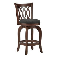 HomeVance Arleta 24 in Swivel Counter Stool