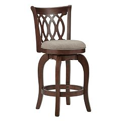 HomeVance Arleta 24-in. Swivel Counter Stool