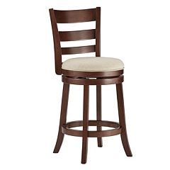 HomeVance Atalya 24 in Swivel Counter Stool