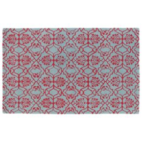 Kaleen Evolution Tulips Wool Rug - 8' x 11'