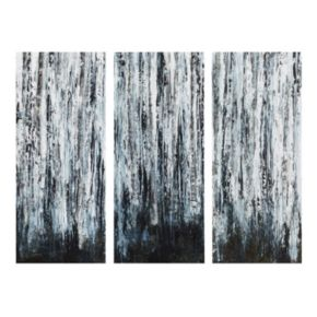 Madison Park 3-piece ''Birch Forest'' Canvas Wall Art Set