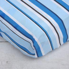 Caden Lane Pinstripe Crib Sheet