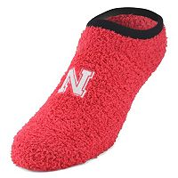 Nebraska Cornhuskers Chenille Slipper Socks - Women's